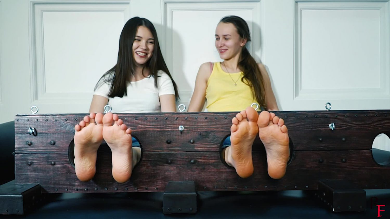 Barefoot Tickle Torture